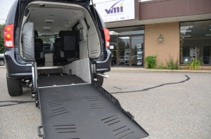 2013 Dodge Grand Caravan SXT Rear Entry