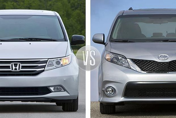 Honda Odyssey Vs Toyota Sienna >> Honda Odyssey Vs Toyota Sienna Which Is Better For