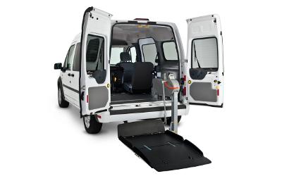 information new england wheelchair van