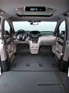 Honda Odyssey VMI Northstar Conversion Specifications
