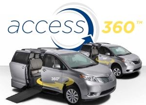 Toyota Sienna access360