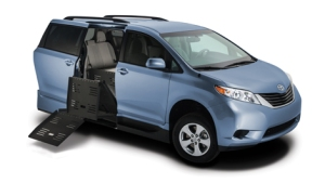 Toyota Sienna with VMI Summit Conversion