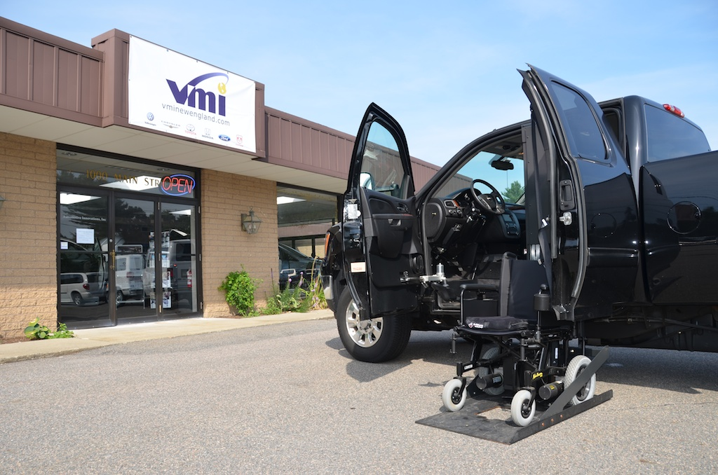 Wheelchair Accessible Pick Up Truck Ryno Adaptive Dealer