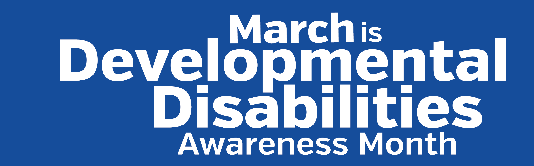 Developmental Disabilities Awareness Month Adaptive Dealer
