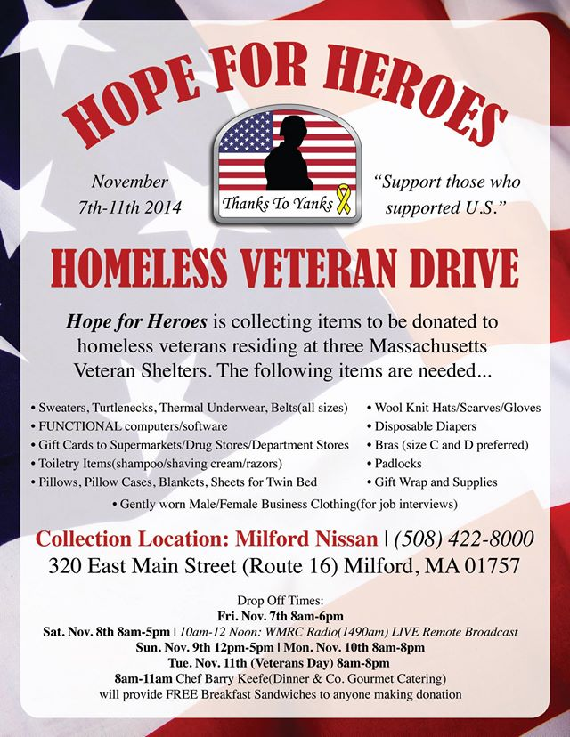 Hope For Heroes: Homeless Veteran Drive | Adaptive Dealer