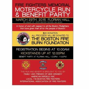 Fire Fighters Memorial Motorcycle Run & Benefit Party
