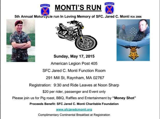 5th Annual Monti's Run