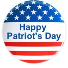 Happy Patriot's Day 2015