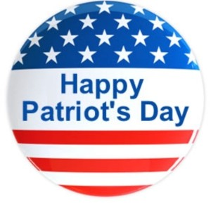 Happy Patriot's Day 2015