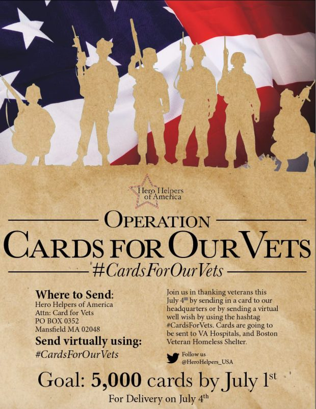 Cards For Our Vets
