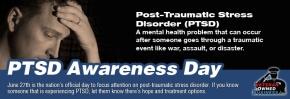 PTSD Awareness Day 2015