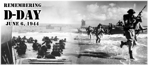 Remembering D-Day 1944