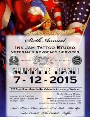 Sixth Annual Ink Jam Tattoo Sudio Veteran's Advocacy Services