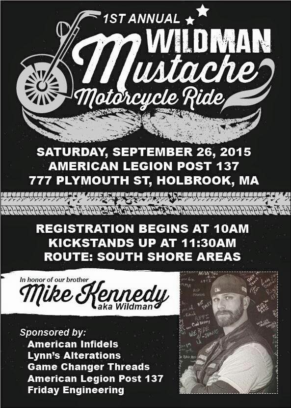 1st Annual Mustache Ride