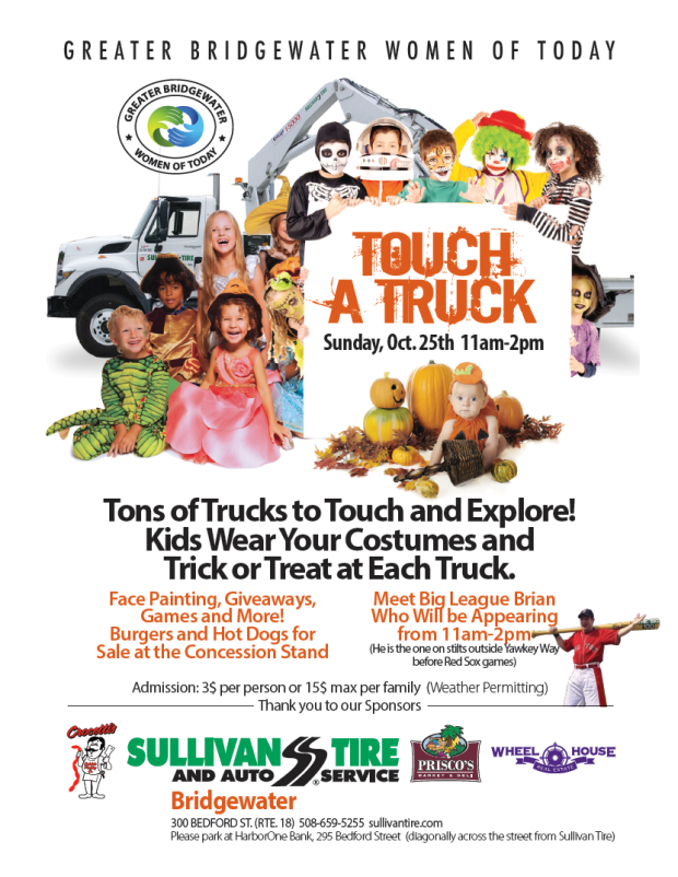 Greater Bridgewater Women of Today Touch a Truck
